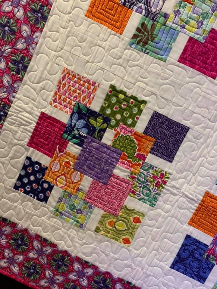 Ge Quilt Designs Charm Shuffle From Stripology Mixology