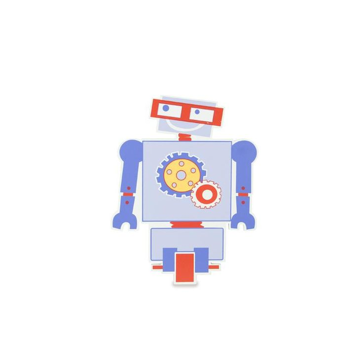 Robot Rick Wall Plaque - Metro Kids for sale by Little Shop of Treasures. Other Metro Kids available now at LSOT.