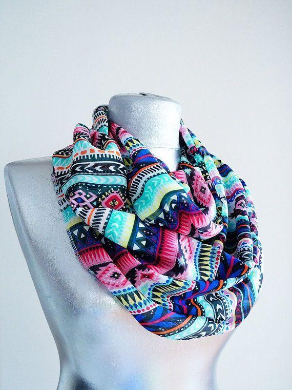 Soft scarf multicolor