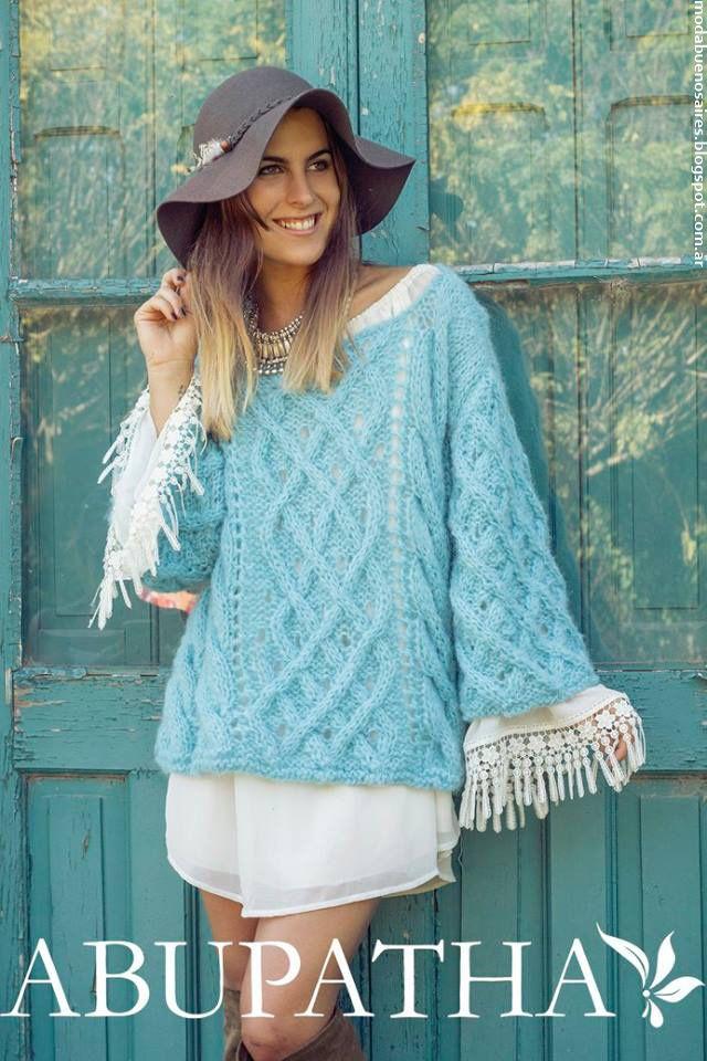 Sweaters tejidos invierno 2016 Abupatha.