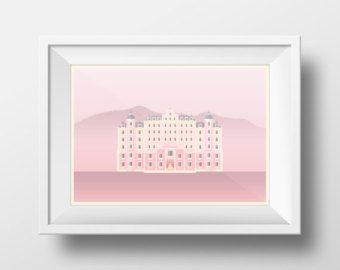 Pásate por mi tienda para ambos carteles de colección Wes Anderson como un paquete y Ahorre casi 40%.  Una colección de ilustraciones de cuatro de mis películas favoritas de Wes Anderson, el Tenenbaums real, la vida acuática, Moonrise Kingdom y el Grand Hotel de Budapest. Todo creado en una mirada simple plano estilo de arte.  ----------------------------------------------------------  Papel Fabriano arte impreso en ácido libre 160 g.  Medida de impresiones de 11 x 16 (tamaño A3) y 16 x 23…