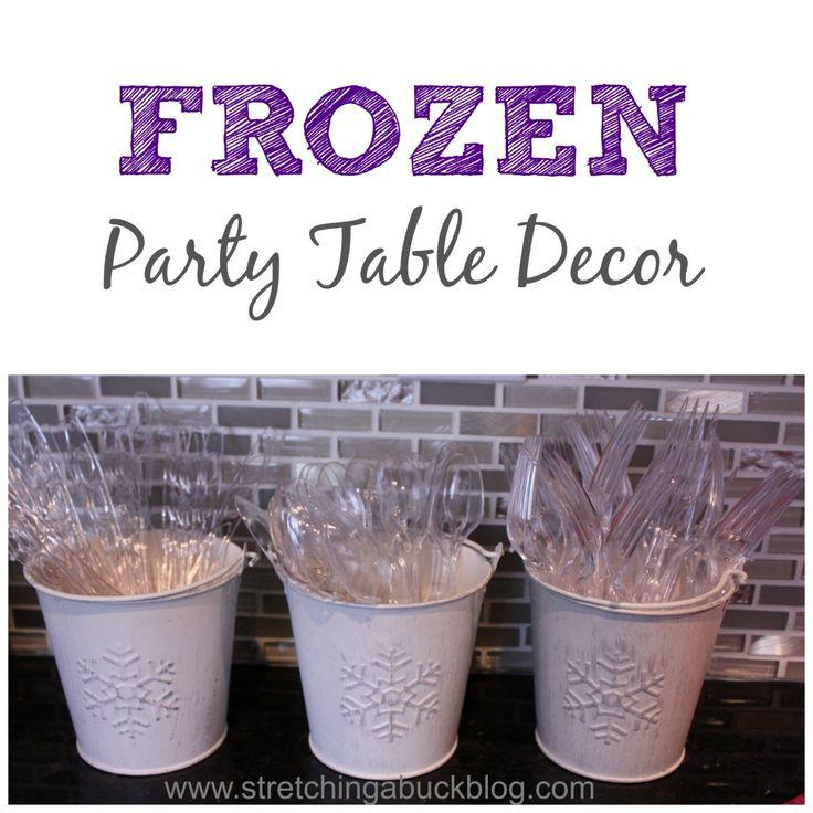 Disney Frozen Party Table Decor Centerpiece
