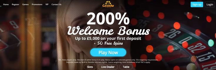 Casimba Casino is a Best New Online Casino site that is licensed by the UK Gambling Commission and offers great games and Casimba Casino is one of the most exciting new casinos! With more than 20 game providers including NetEnt, Microgaming, Evolution, etc, showcasing over 500 slot and casino games, and MORE THAN GENEROUS welcome offers it will be one of the online casino sites and you will get 200% deposit bonus on your first deposit, up to £5000, as well as 50 Free Spins.