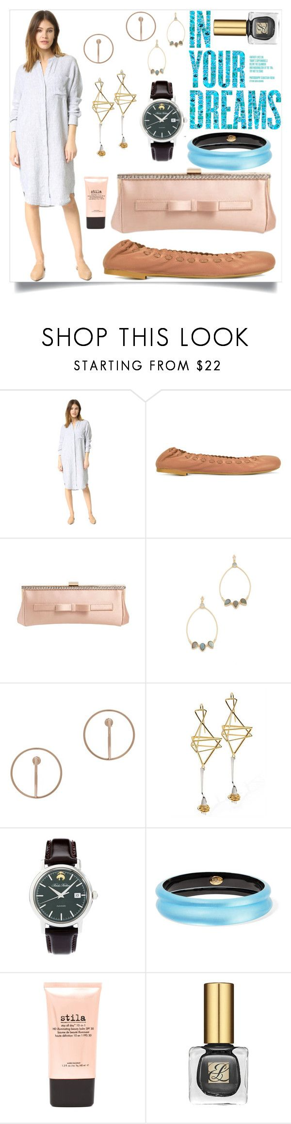 """In your dreams"" by camry-brynn ❤ liked on Polyvore featuring James Perse, See by Chloé, RED Valentino, Atelier Mon, Charlotte Chesnais, Futuro Remoto, Brooks Brothers, Alexis Bittar and Stila"