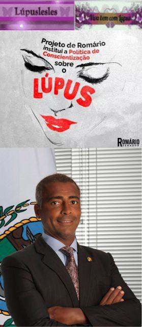 Lúpuslesles: Lúpus PLS 322/2015 do Senador Romário em andamento...