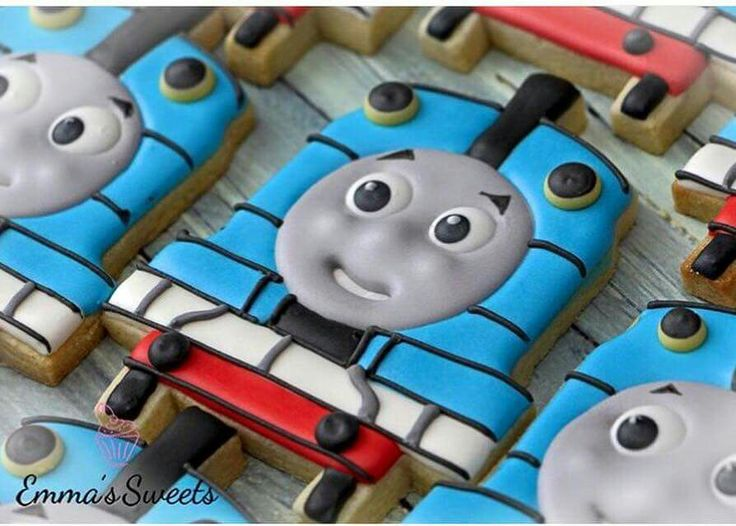36 Best Cookies Thomas The Train Images On Pinterest