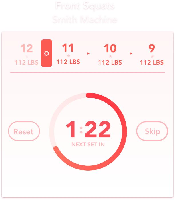 Ignite is the most powerful workout tracker app for your iPhone. Ignite helps you set fitness and bodybuilding goals and lets you log your workout results accordingly.