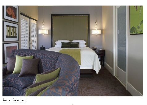 Andaz Savannah S Location Across From Ellis Square And City Chic Vibe Make It The Perfect Place To Stay In Hotels Resorts