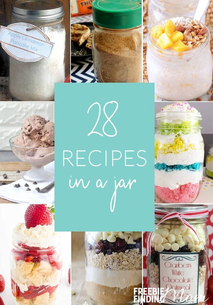 Whether you're looking for delicious dishes for your holiday menu or inexpensive heartfelt gifts, recipes in a jar can help. Here you'll find easy and delicious Mason jar breakfast recipes and Mason jar dessert recipes along with a handful of other fun gifts in a jar recipes. These Mason jar gifts are perfect for most anyone on your Christmas shopping list especially teachers, friends and family. #recipesinajar #masonjarrecipes #giftsinajar #homemadegifts #diygifts #masonjargifts…