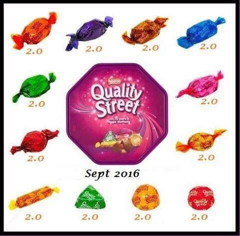 Quality street slimming world syns EE