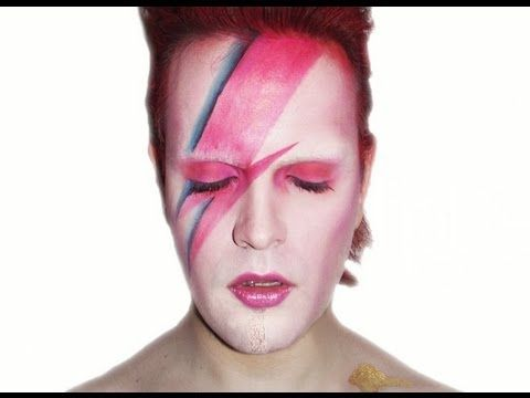 ▶ Aladdin Sane - David Bowie - Makeup Tutorial! - YouTube