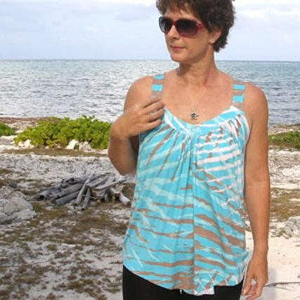 Womens Summer Top (free sewing pattern)