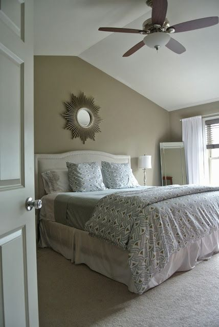 Olive Lane: My Fall Bedroom Update Serena & lily Nico Duvet, Target Threshold Blanket and Sheets