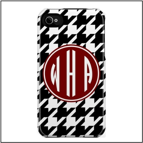 Houndstooth iPhone case...roll tide!