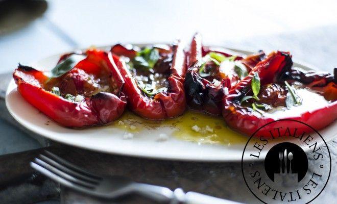 Poivrons farcis aux tomates cerises – Les Italiens - Mag