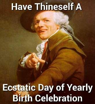 Birth Celebration - Funny Happy Birthday Picture
