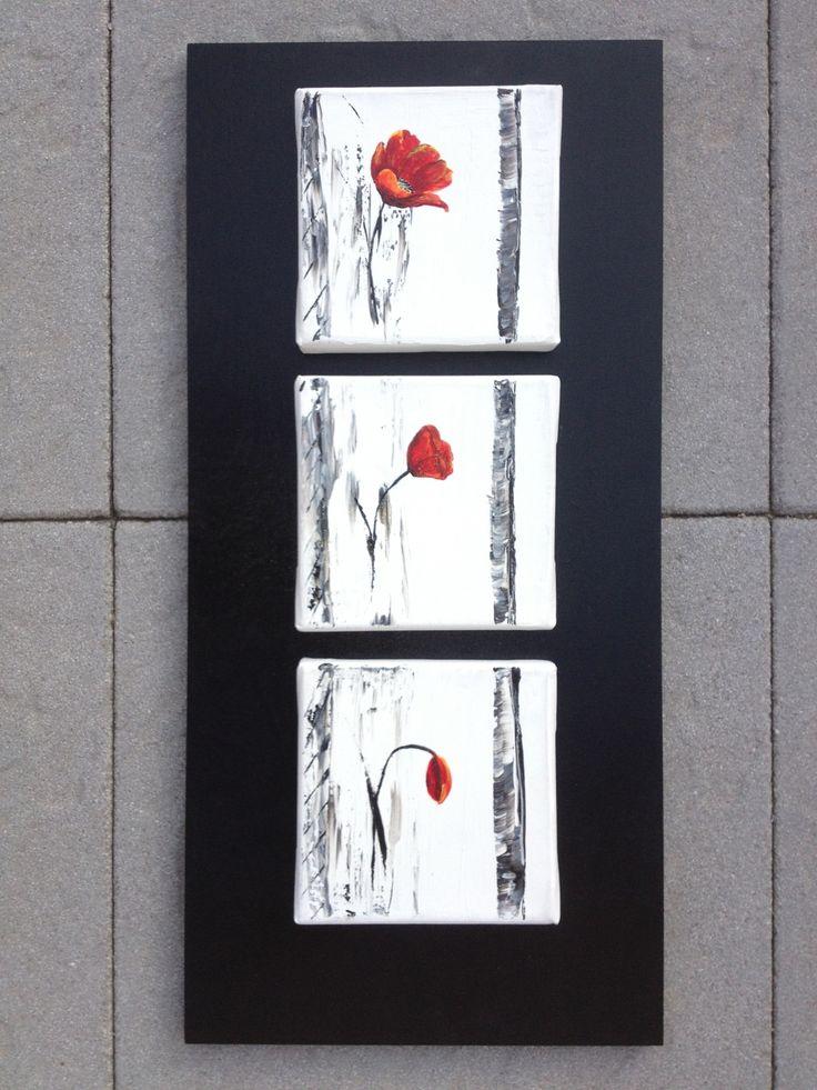 1000 id es sur le th me tableau triptyque sur pinterest acrylique tableau - Peinture acrylique triptyque ...
