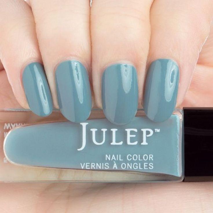 Julep TRUDY Nail Color Treat Polish Boho Glam Botanical Teal Creme BNIB #Julep