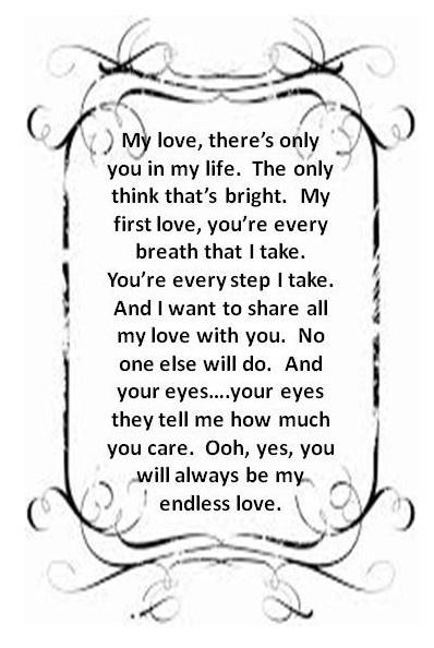Lionel Richie - Endless Love