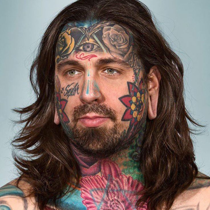 55 Worst Face Tattoos Ever! Jaw-Dropping! -  #face #tattoos #WTF
