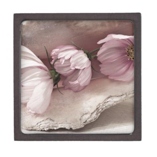 Three Pink Cosmos Premium Jewelry Boxes