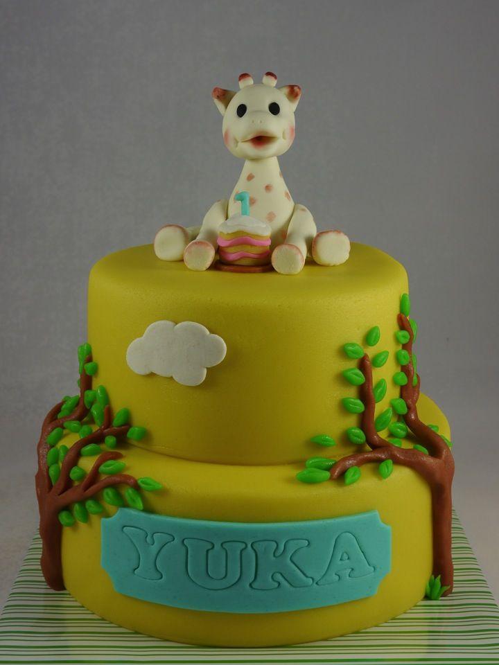 Sophie Giraff cake, Giraf sophie taart