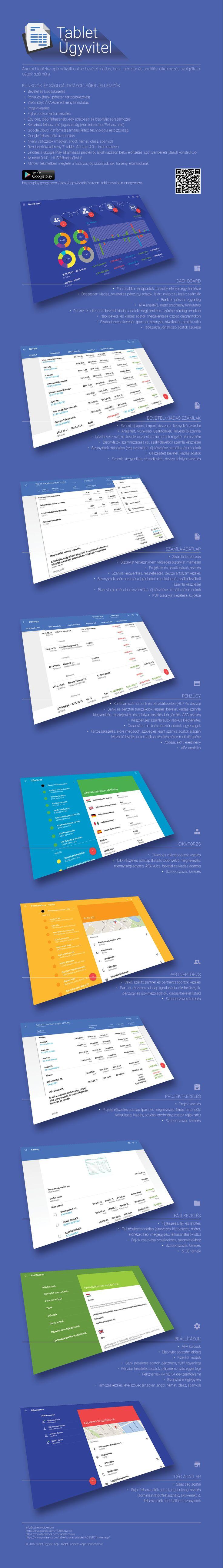 Tablet Ügyvitel App termékbemutató