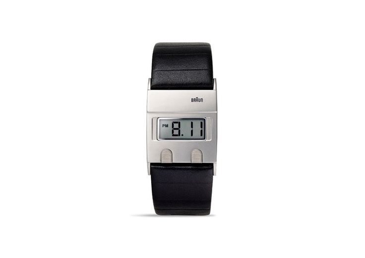 """""""The Braun Digital Watch BN0076 is based on the original DW30 that was designed by Dieter Rams and Dietrich Lubs in 1978."""""""