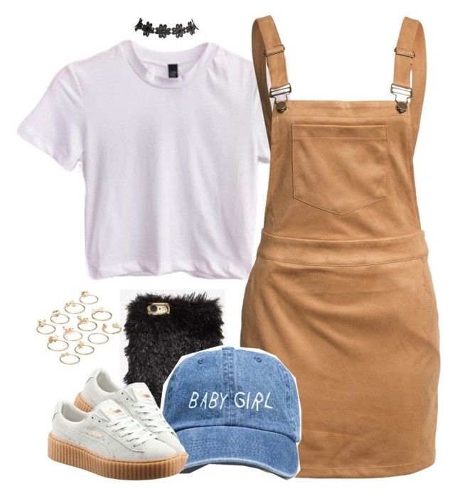 """Untitled #881"" by cjasmyne ❤ liked on Polyvore featuring NOVA, Glamorous, Puma, ASOS and Wet Seal"