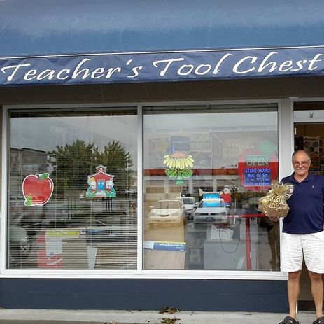 Crownsmen Partners delivered a Golden Basket to Teacher's Tool Chest and they asked us to send one to Niko Sushi.  - See more at: http://www.crownsmenpartners.com/golden-baskets#sthash.3QITOwfo.dpuf