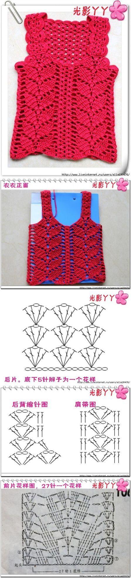 24 best Women - Camisole images on Pinterest | Blouses, Crochet ...