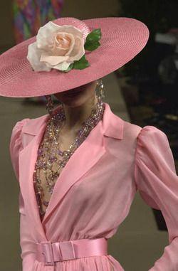 Yves Saint Laurent haute couture s/s 2001