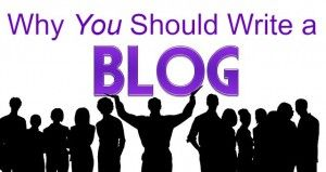 Why You Should Write a Blog #SEO #smallbusiness #blogging101