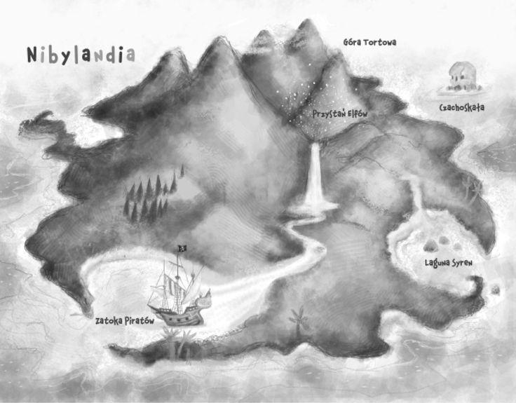 mapa Nibylandii kolorowanka - Szukaj w Google
