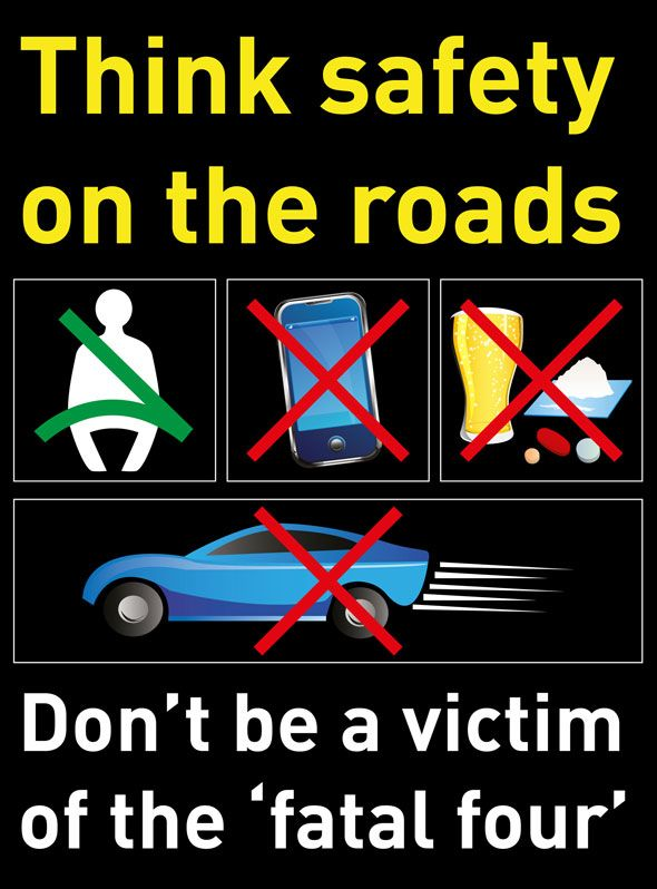 55 best road safety infographics images on pinterest info graphics think safety on the roads fandeluxe Images