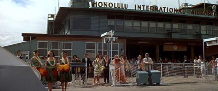 Honolulu International Airport, Blue Hawaii, 1961