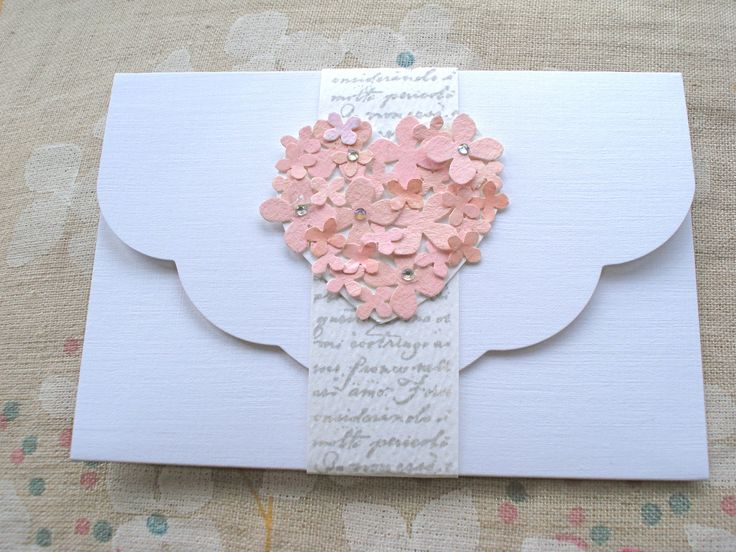 I love this handmade envelope