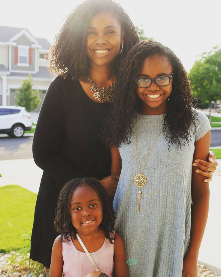 "250 Likes, 17 Comments - Tammy Brown (@imlovelocd) on Instagram: ""#Sisterlocks for the girls.  It makes life so much simpler. In previous years I would have been…"""