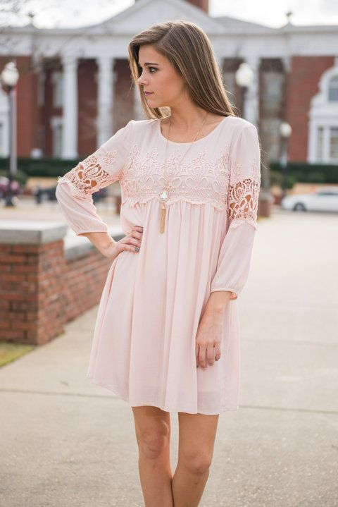 """Flashing Lights Dress, Rose Quartz"" 