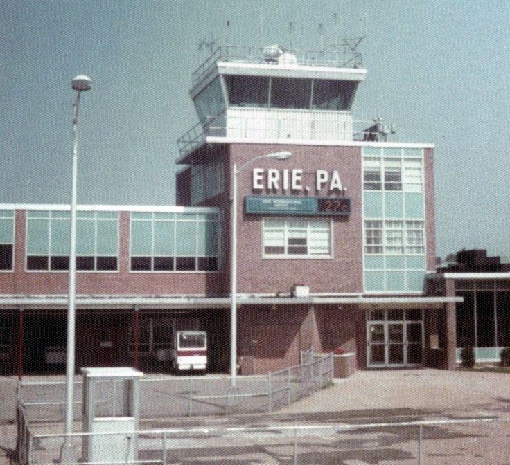Erie international airport august 1978 history and