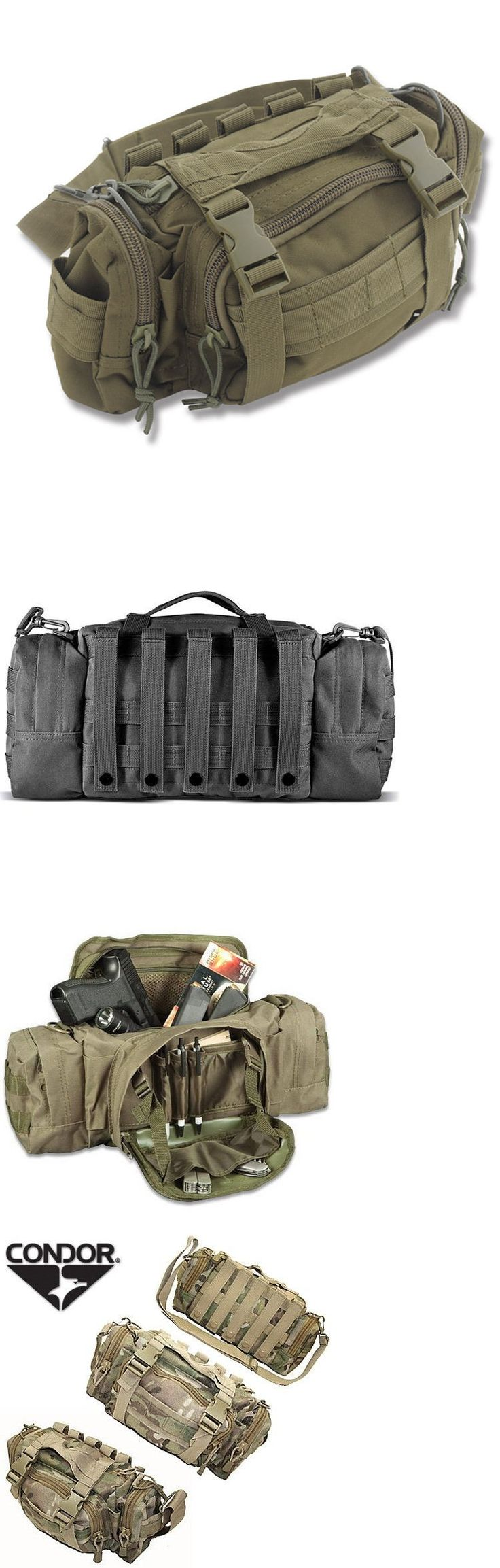 Tactical Molle Pouches 177900: Od Olive Drab Molle Modular Rapid Response Medical Bag Police Military Camping BUY IT NOW ONLY: $34.95
