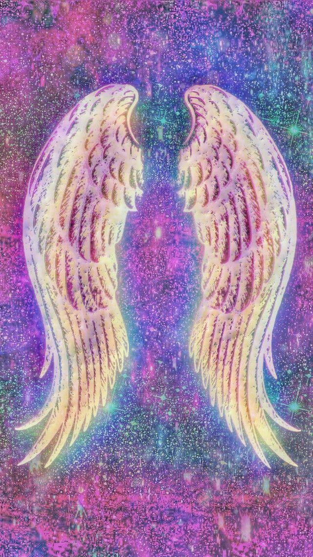 galaxy heavenly wings made by me wings heaven