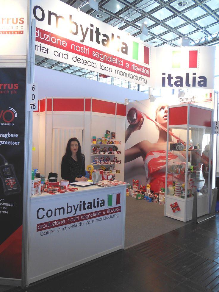 A+A - Düsseldorf: COMBY ITALIA. Ricerca, analisi, promozione e comunicazione. Progettazione e realizzazione dell'allestimento dello stand. Photo by honegger