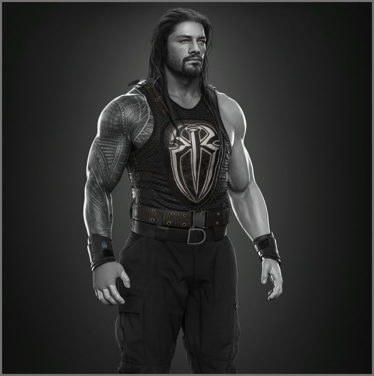 ArtStation - Roman Reigns done for WWE, Hossein Diba