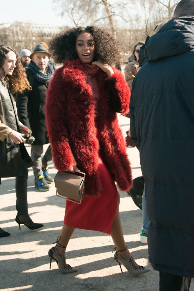 Solange+Knowles's+Street+Style+Game+Has+Never+Been+Better+via+@WhoWhatWear