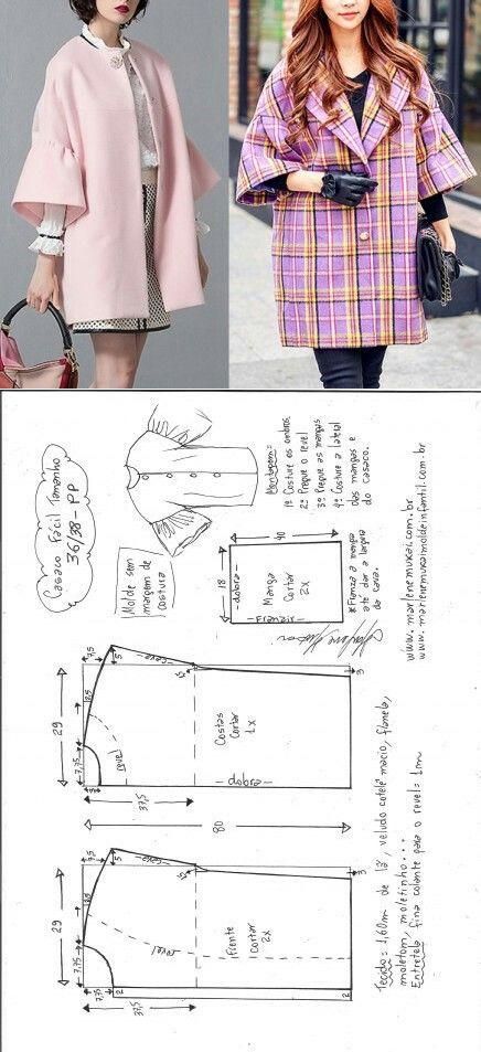 Easy jacket scheme...<3 Deniz <3