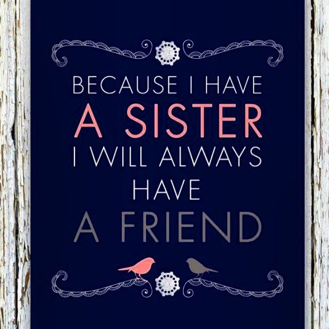 I Love You Sister Quotes: Best 25+ Sister Quotes And Sayings Ideas On Pinterest