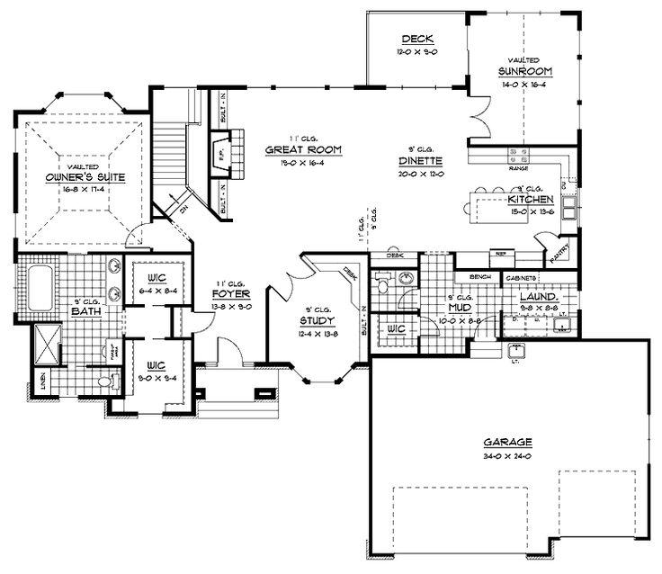 371 Best Open Floor Plan Decorating Images On Pinterest: 371 Best Floor Plans Images On Pinterest