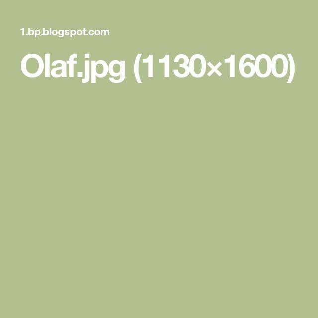 Olaf.jpg (1130×1600)