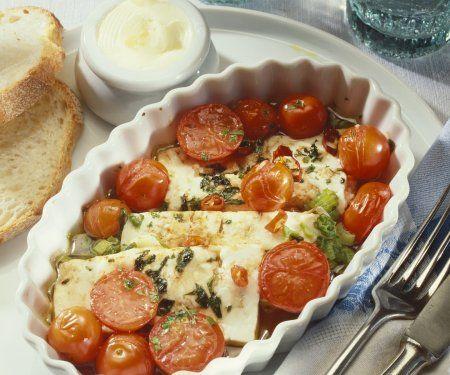 Rezept: Tomaten-Feta-Auflauf